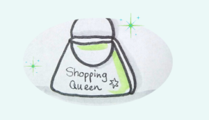 Shopping Tasche als Symbol für Online-Shop