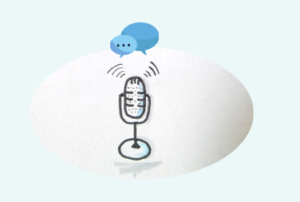 Mikrofon Zeichnung